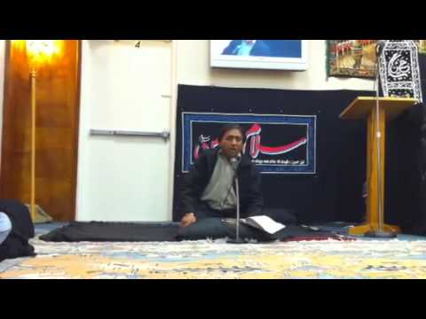 Rizvi Brothers - Miami, Florida USA - Shahid Rizvi Salaam Raat Bhar Maa
