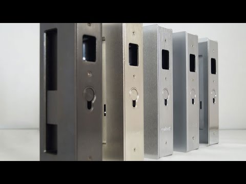Cl400 Magnetic Pocket Door Lock By Cavilock Youtube
