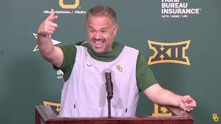 Coach Rhule Postgame vs. Texas Tech