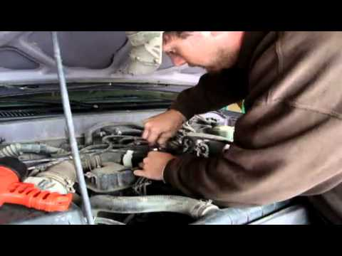 How to Change Spark Plugs and wires on 98 Toyota Tacoma 4 Cy - YouTube: 1996 toyota tacoma spark plug wire diagram at negarled.com