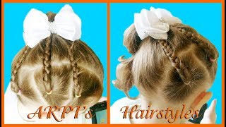AWESOME HAIRSTYLE FOR LITTLE GIRLS 💮CUTE BRAID HAIRSTYLE FOR GIRLS Little Girl's Hairstyle Tutorial