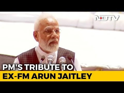 'Able Leader, Encyclopaedia, Close Friend': PM's Tribute To Arun Jaitley