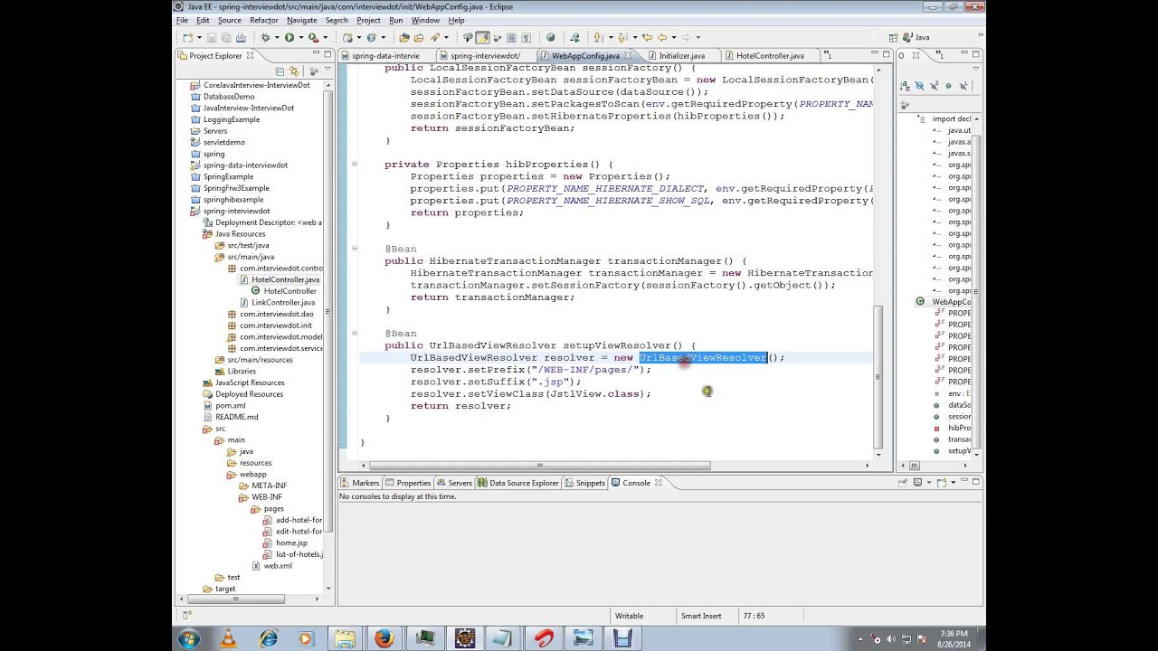 WHAT IS VIEW RESOLVER IN SPRING MVC IN TAMIL