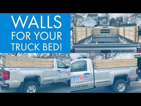 Horizon VLOG #19   Building Walls for Truck Bed