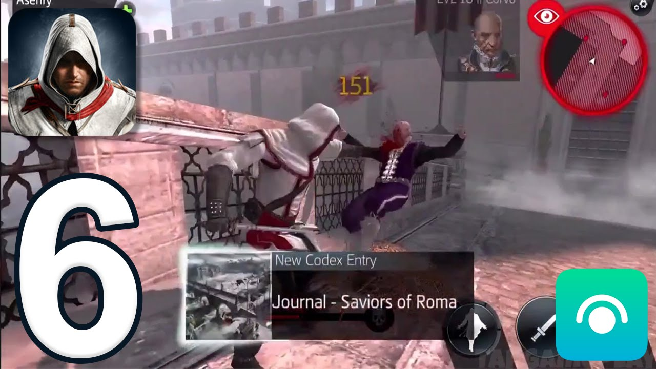Assassin S Creed Identity Gameplay Walkthrough Part 6 Italy