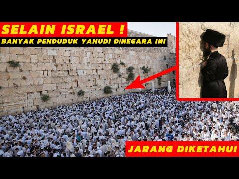 Ternyata Selain Israel, Ini 5 Negara Dengan Penduduk Yahudi Terbanyak. No 5 Gak Nyangka !