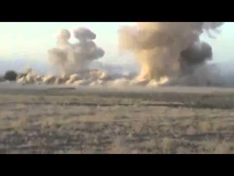 3 HIMARS and a JDAM Hit Taliban Close Footage