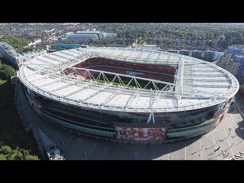 Stadium Drone - Arsenal F.C. - The Emirates