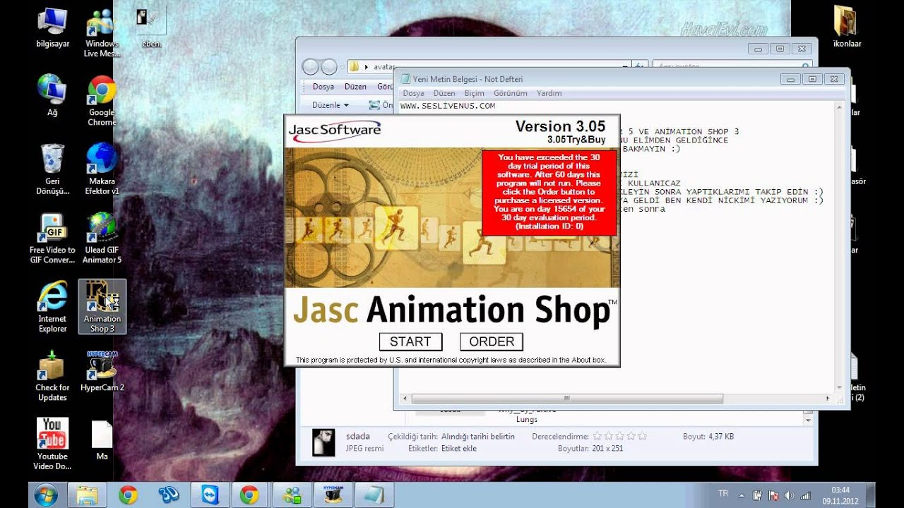 Jasc animation shop.