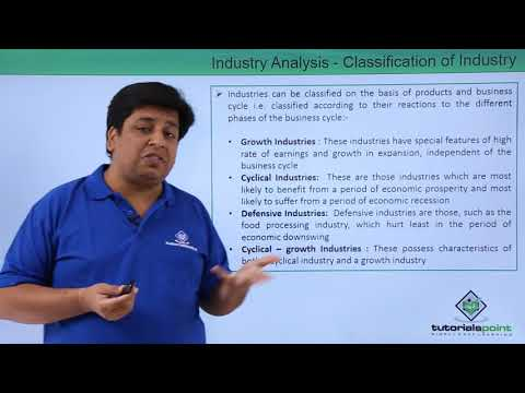 Industry Analysis - Classification of Industry