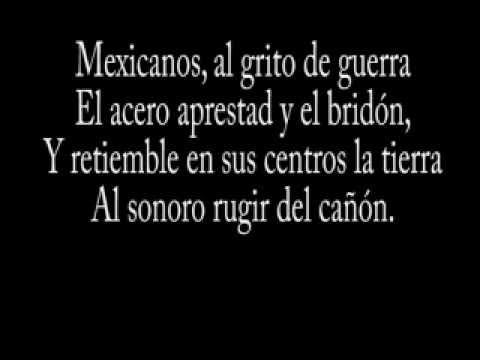 Himno Nacional Mexicano Completo Letra