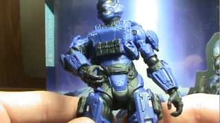 Halo 4 Series 1 Spartan Soldier Action Figure Review