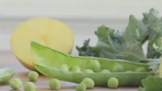 Baby Food | Savory Pea, Kale, & Potato Puree