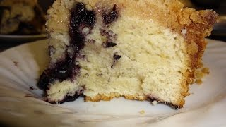 Blueberry Coffee Cake Ii With Kitchen Aid Mixer