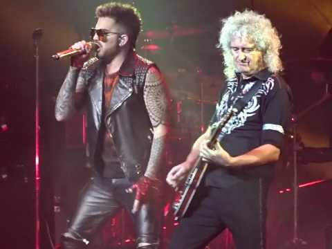 Queen + Adam Lambert - Hammer To Fall - TD Garden, Boston 7-25-2017