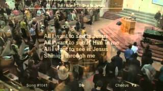 All I Want To See Is Jesus - Edward Byskal Praising