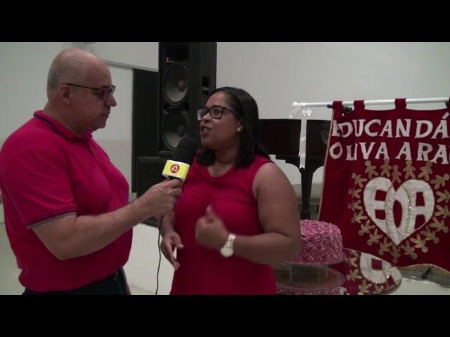 Diretora do EOA fala sobre aniversário da istituição em Laje