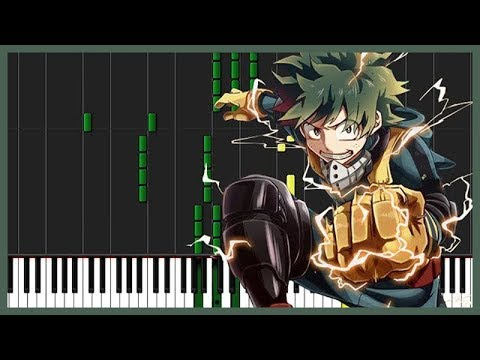 You Can Become A Hero - Boku no Hero Academia [Piano Tutorial] (Synthesia) // Goku Anime Piano