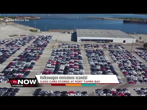 Thousands of recalled VW cars sitting in Tampa