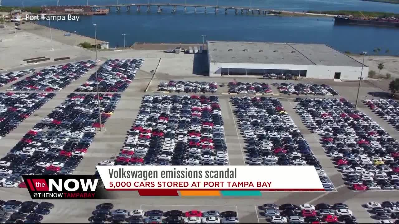 thousands  recalled vw cars sitting  tampa youtube