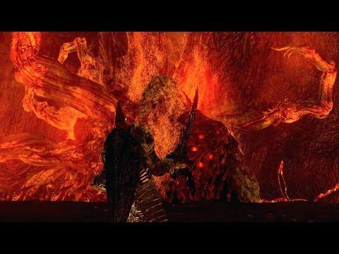 Dark Souls: Ceaseless Discharge Boss Fight (4K 60fps)