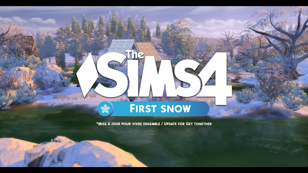 les sims 4 first snow mod windenburg update youtube