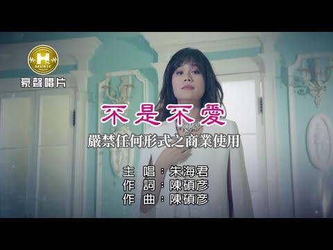 朱海君-不是不愛【KTV導唱字幕】1080p