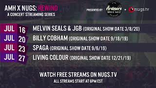 AMH x nugs Rewind: Melvin Seals & JGB 3/8/2020