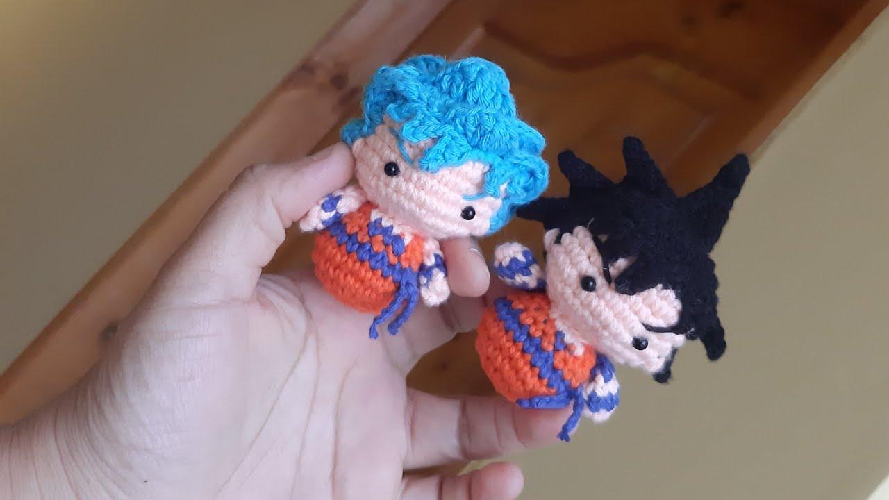 Amigurumi Goku Dragon Ball Doll, Goku amigurumi, Crochet Doll ... | 720x1280