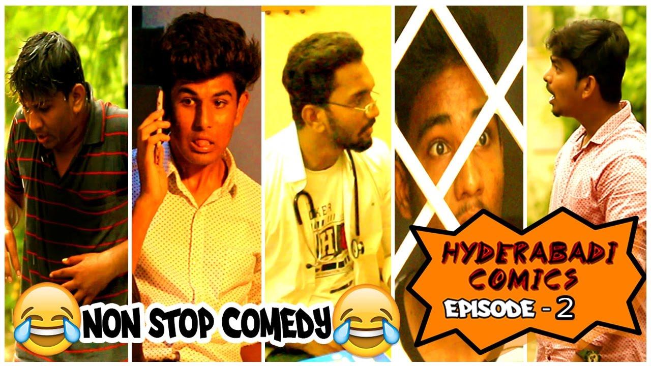 Hyderabadi Comics Episode 2 || Non Stop Comedy || Badass Studios