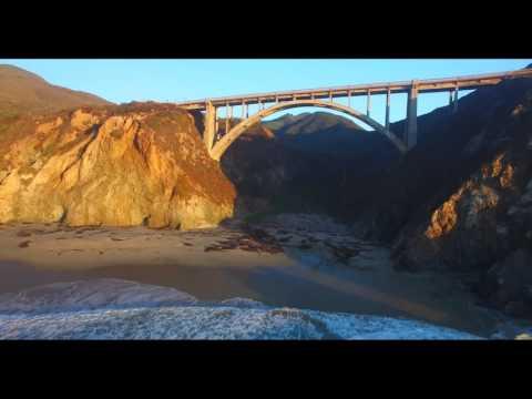 Beautiful Drone Video of Big Sur, CA (Phantom 3 Pro)