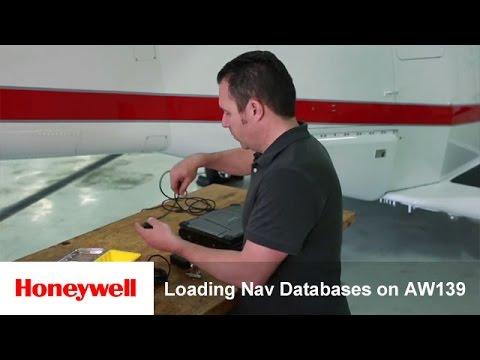 Loading Nav Databases on AW139 | Training | Honeywell