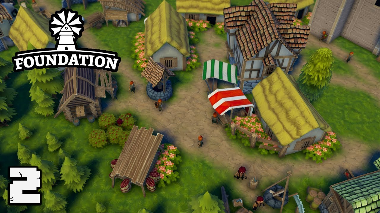 Foundation Polymorph Games foundation #2 wheat fields and a healthy economy