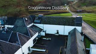The Dram Drone Visits Cragganmore Distillery