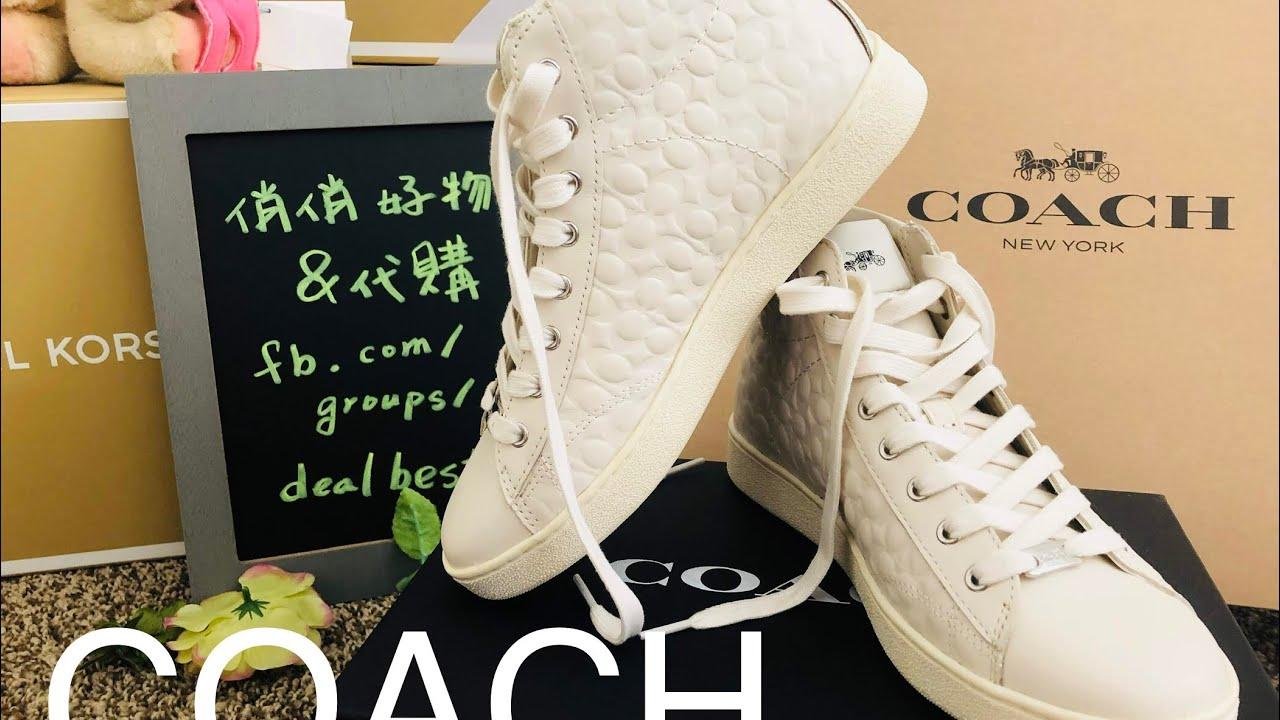 COACH ☜UNBOXING☞ FG1851 C204 HIGH TOP