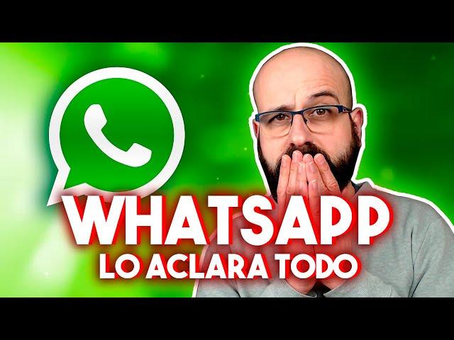 💥 WHATSAPP LO ACLARA TODO | La red de Mario