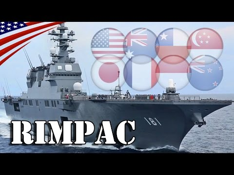 Multinational Warships Arrivals at Pearl Harbor : RIMPAC 201