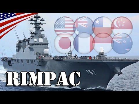 Multinational Warships Arrivals at Pearl Harbor : RIMPAC 2016 - 海上自衛隊「護衛艦ひゅうが」他、リムパック2016参加艦船が真珠湾に到着