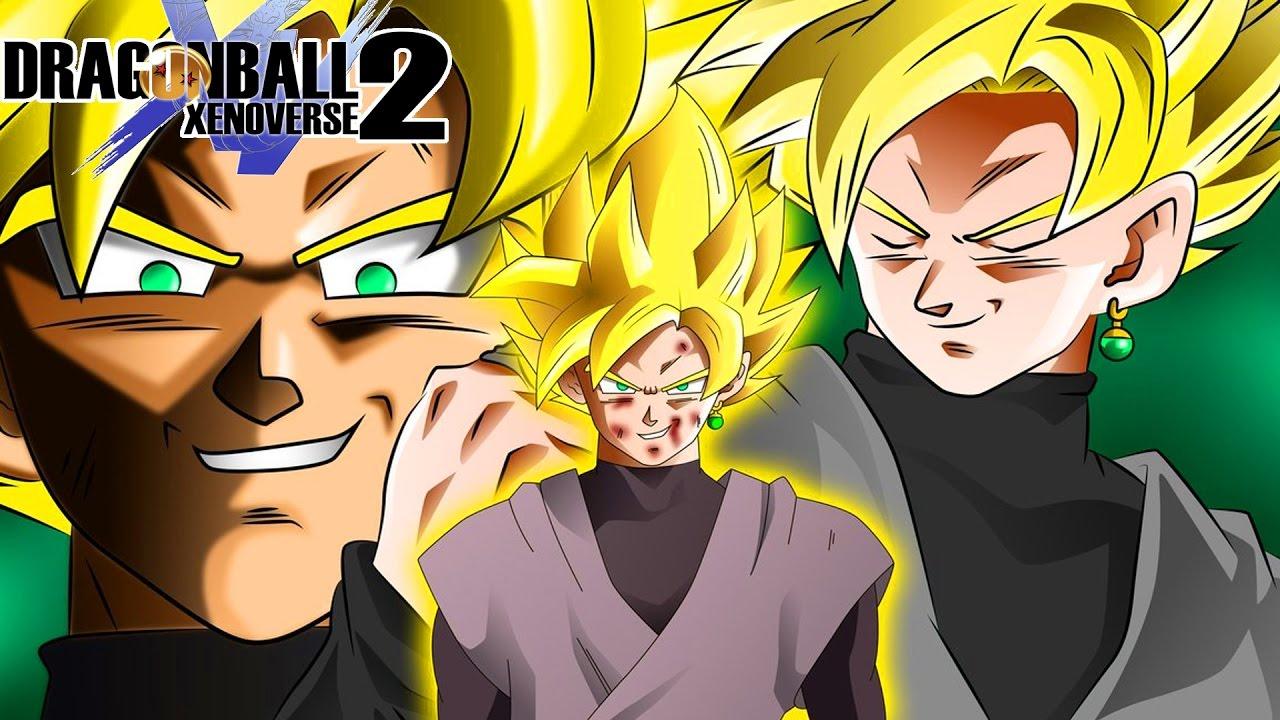 Goku Black Reaches Super Saiyan 2! The Golden Dark Warrior