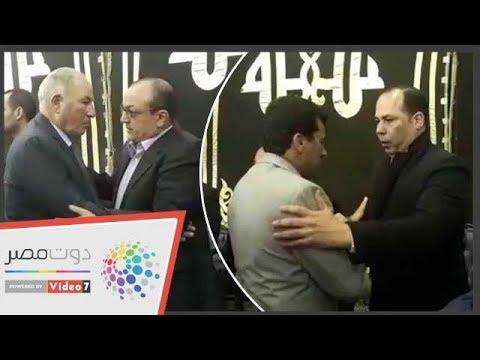 وزير الرياضة وحازم إمام والزند فى عزاء خالد توحيد  - نشر قبل 22 ساعة