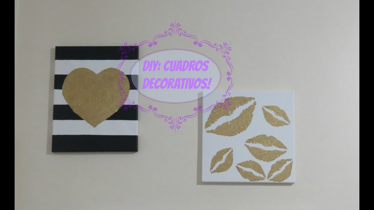 Diy cuadros decorativos youtube - Cuadros de fotografias ...