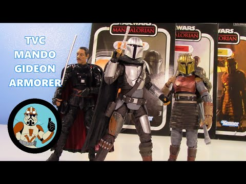Star Wars les Mandaloriens S2 Custom 3.75 Pure beskar SPEAR pour Hasbro TVC