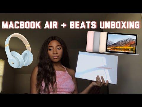 macbook-air-and-beats-studio3-wireless-headphones-unboxing-|-apple-back-to-school-bundle-2019