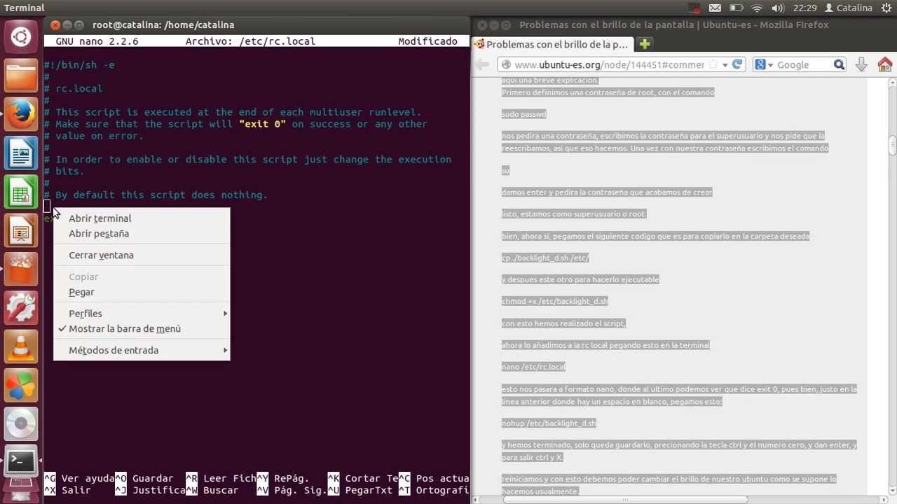 Resolver Problema de brillo en linux ubuntu y linux mint [teclas fn (o de acción) no funcionan]