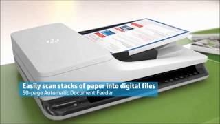 HP Scanjet Pro 2500 f1 &3500 f1 | Flatbed Scanner