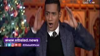 محمد رمضان: سعيد صالح أقسم بالطلاق لأشارك في «قاعدين ليه».. فيديو