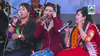 चोलेन्द्र पौडेल र लक्ष्मी नेपाली ले खेले लेखनाथमा दोहोरी