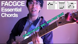 FACGCE Essential Chords For Writing Math Rock Emo Post Rock And Shoegaze