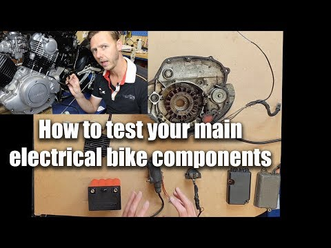 How to test your main electrical bike components (part 1 of 2)