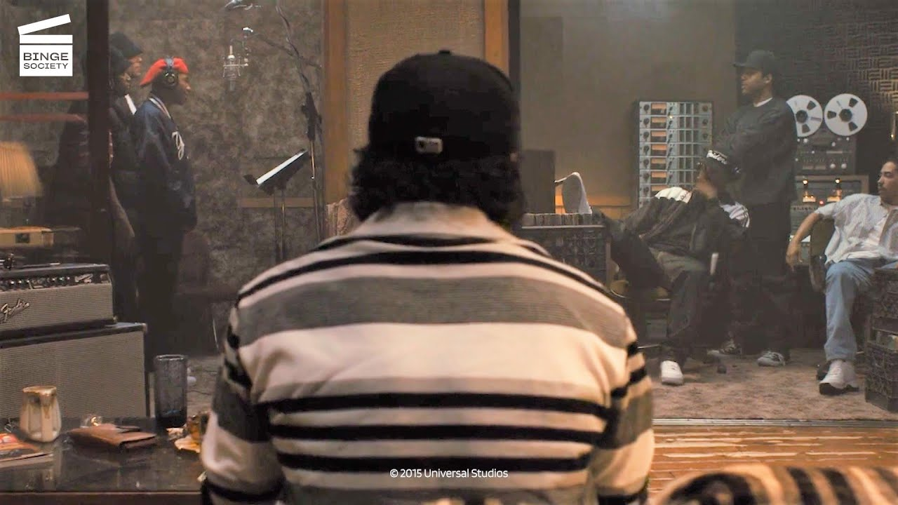 Download Straight Outta Compton: Studio session HD CLIP